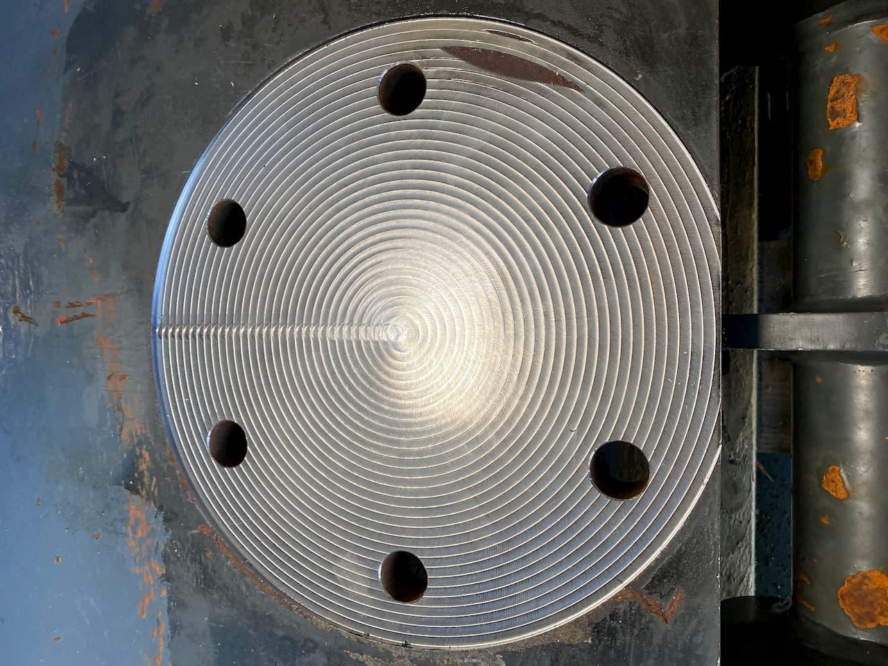 CNC gefräste Oberfläche